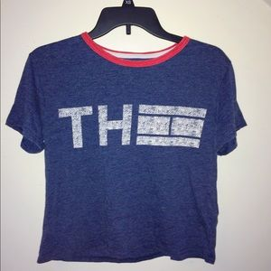 Tommy Hilfiger cropped teeshirt
